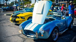 Ruby's Car Show-Redondo Beach