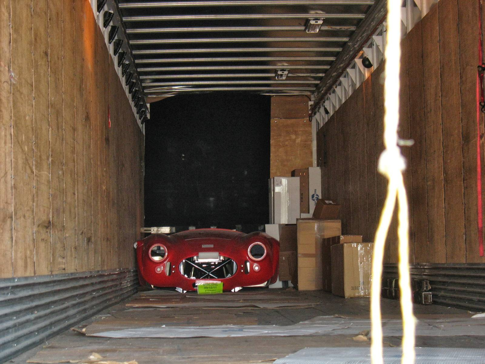 Factory Five Roadster - Last Kit on the Truck :-(