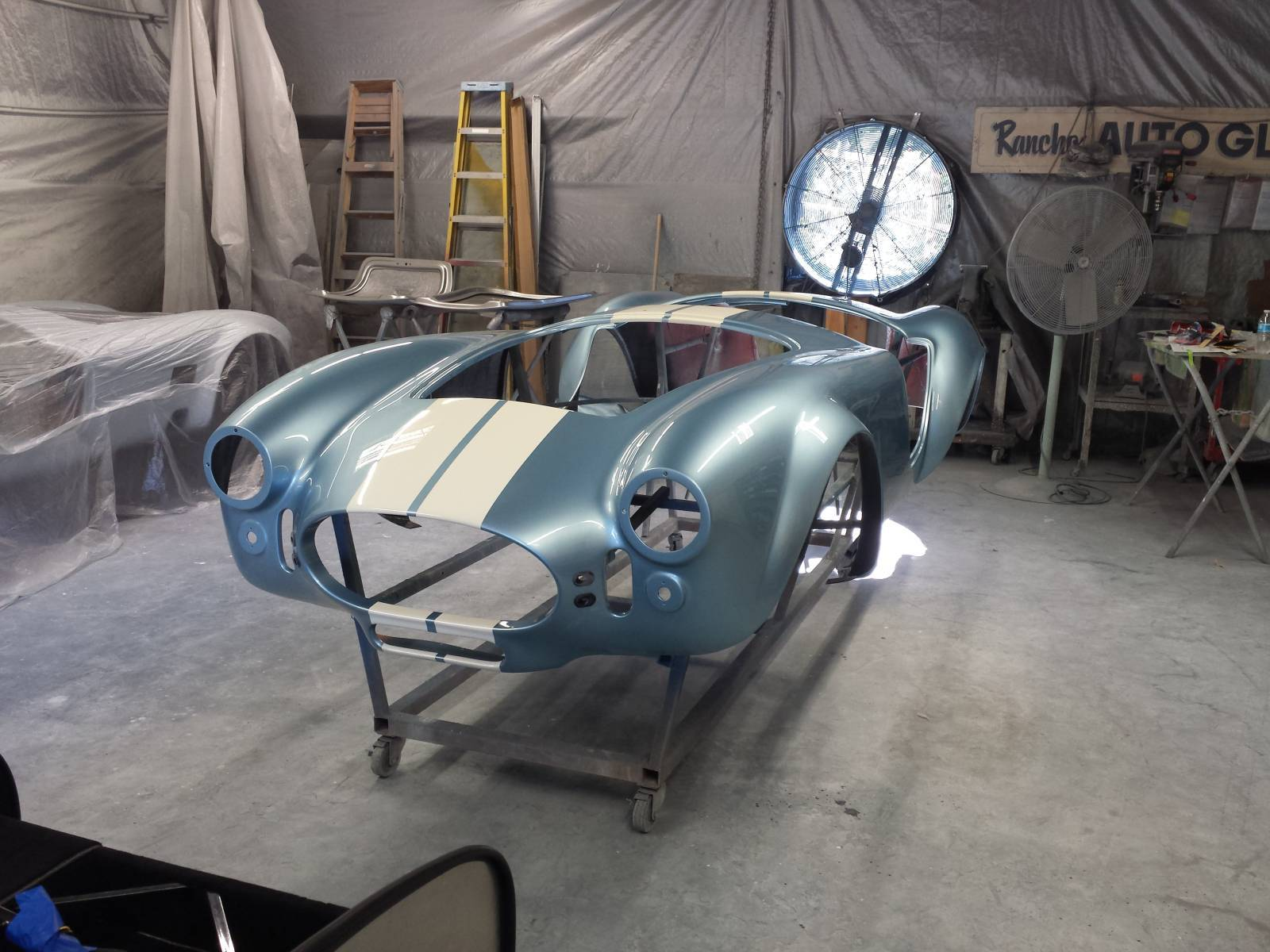 FFR Roadster Body and Paint